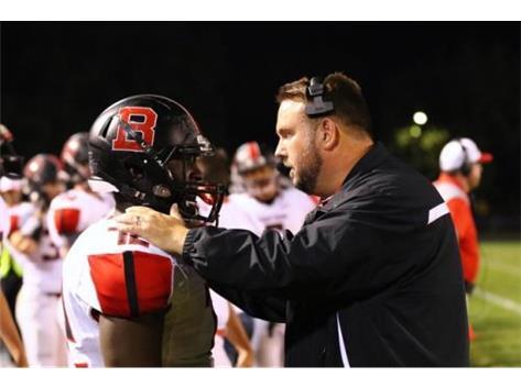 Delmar Fogan and Coach Brown