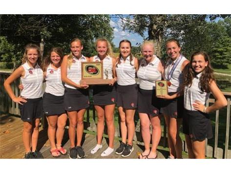 The Lady Chiefs Golf Team captures another CBC title!