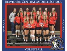 2019/2020 8th Grade Volleyball