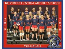 2019/2020 7th Grade Volleyball