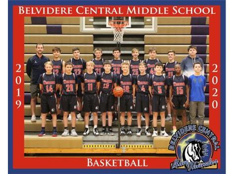 8th Grade Boys Basketball 2019/2020