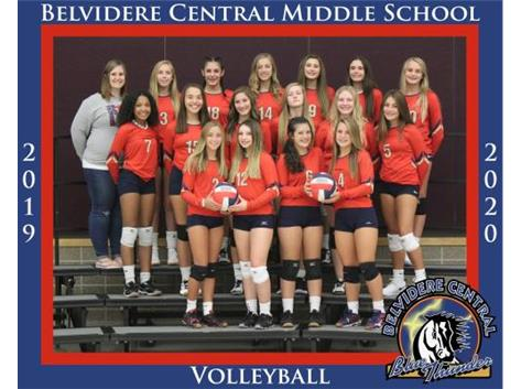 2019/2020 8th Grade Volleyball