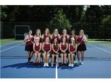 2018 Rangerettes Tennis Team