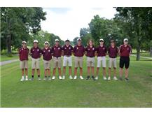 2021-2022 Boys Golf Team