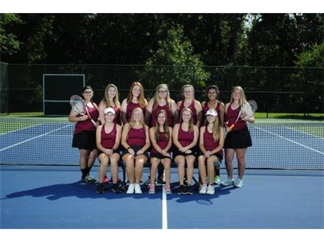2018 Rangerettes Tennis Team