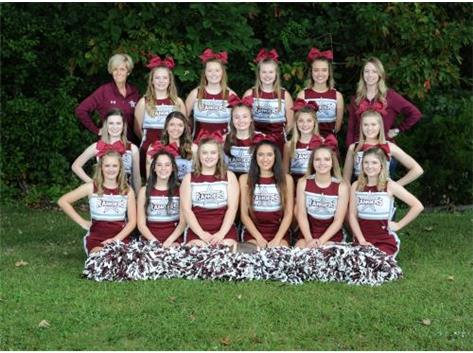 2018-19 Benton Cheerleaders