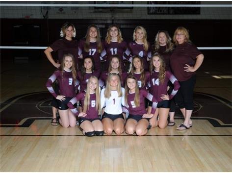 2018-19 Rangerettes Varsity Volleyball Team