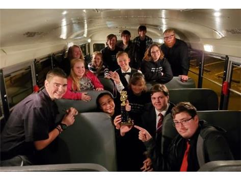 The BCHS Speech Team took home 1st place in the limited entry division and 6th place overall at the Harrisburg tournament.