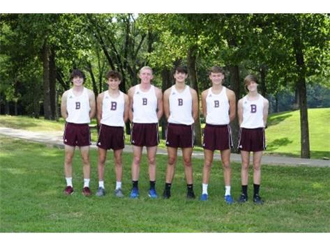 Boys Cross Country Team 2020