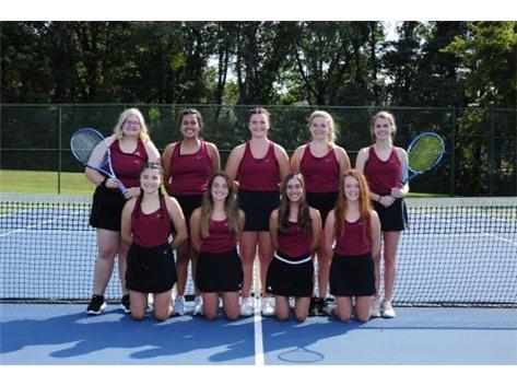 Girls Tennis Team 2020