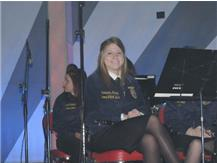 Samantha Haney was a returning first chair clarinet player in the National FFA Band. She also had the opportunity to perform a solo in the National FFA Concert.