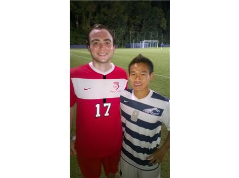 Mike McPeak & Thar Thwai Soccer on the Collegiate Level