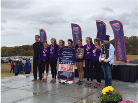 2014 2A NCHSAA Women's XC State Champs