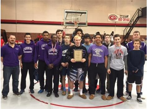 2015 Mid-State Conference Wrestling Champions