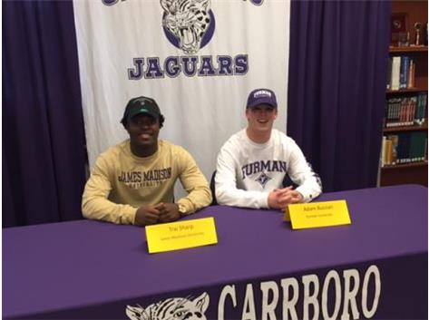 Trai Sharp commits to James Madison and Adam Bussian commits to Furman,