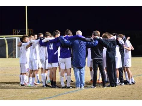 Team huddle before NC state quarterfinal game