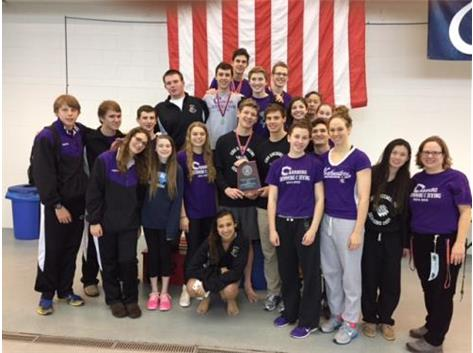 2015 Swim Regionals Boys 2nd Girls 3rd