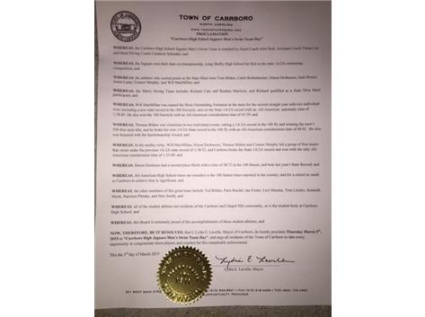 Proclamation from Mayor Lavelle