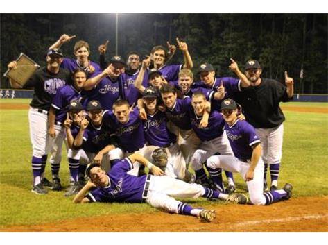 Carrboro Jaguars 2015 Mid-State Conference Baseball Champions