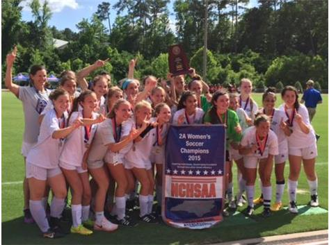 Congratulations to our jaguar Women's Soccer Team--2015 2A NCHSAA State Champs!