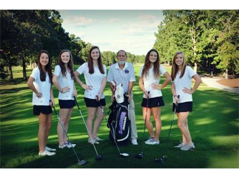 2015 CHS Women's Golf Team, minus Leanne. :(