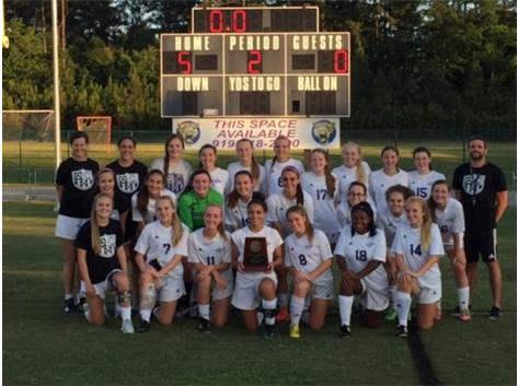 Congratulations to Women's Soccer, 2016 East Regional Champions
