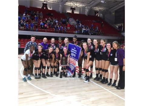 Congratulations to our Jaguar Volleyball Team! NCHSAA 2A State Champs!