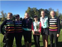 GIRLS GOLF FOX VALLEY CONFERENCE CHAMPIONS!