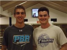 Dynamic Duo - Matt McCumber & Danny Schmidt pitched perfect games in same season!