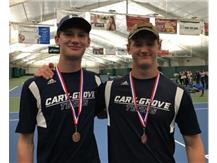 Ted Conneen/Isaac Rands 3rd Place 2nd dubs - FVC Tourney