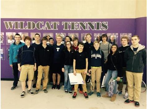 Team trip to watch Northwestern University men's tennis