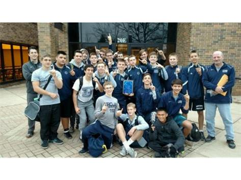 Cary Grove Fr/So team took 1st place in Geneva 2016