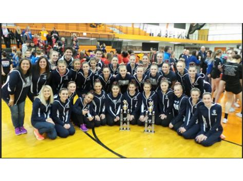Our JV & Varsity Teams won trophies at the CLC Competition!