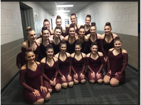 Getting ready to take the floor!