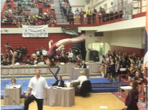 Nikki Baars - Gymnastics All-Around State Champ!