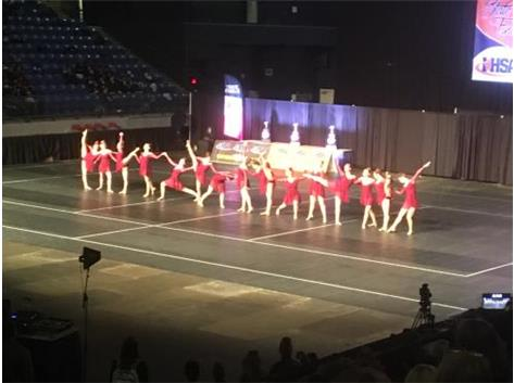 Dance - 12th Place at State!