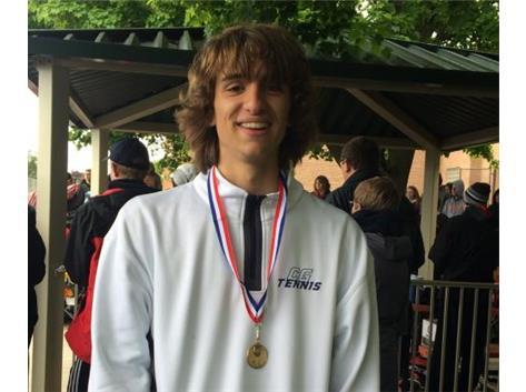 2016 3rd Singles FVC Tournament Champ-Sam Sitarski