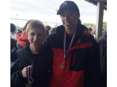 2016 4th Doubles FVC Tournament Champs-Luke Weber & Kevin McDonald