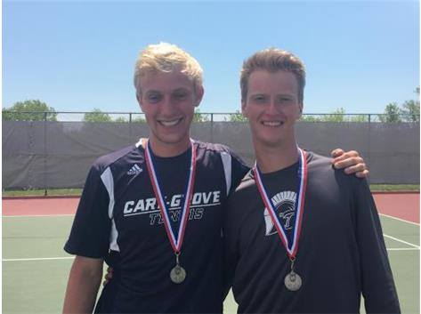 Price/Enstrom-3 Doubles--2nd Place FVC Tourney