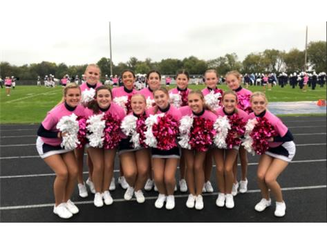 JV Pink Out