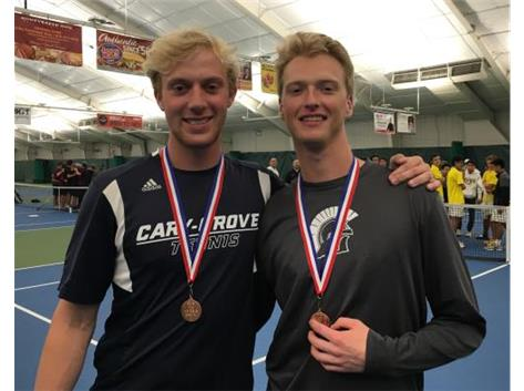Ted Price/Colin Enstrom 3rd Place 3rd dubs - FVC Tourney