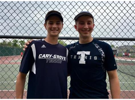 2018 Doubles State Qualifiers & 3rd Place in Sectionals - Mike Ptaszek/Daniel Sowa