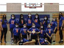 Girls Volleyball Team 2021