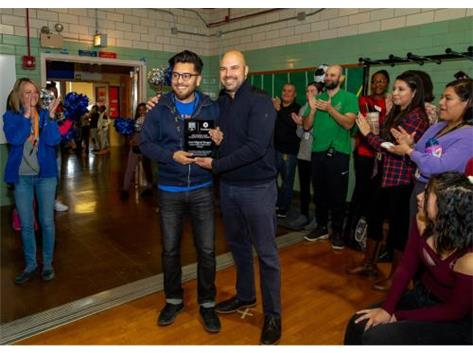 Coach Burgos Receives TrueSport 2019 Championship Coach Award
