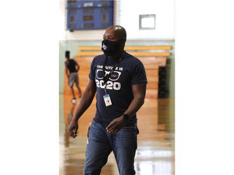 Basketball Coach Chaney