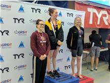 Hannah Kloetzner get 3rd Place in the 200 free.
