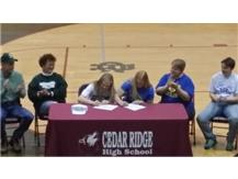 Brittany Daley signs with Greensboro College to play soccer.