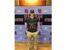 Congratulations to Braxton Mergenthal for signing with  Hampden-Sydney to play Football next year..