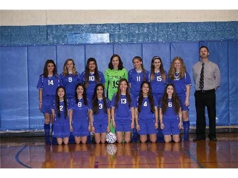 Varsity Girls Soccer 2014