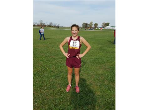 Payne Turney - IHSA State Cross Country Qualifier